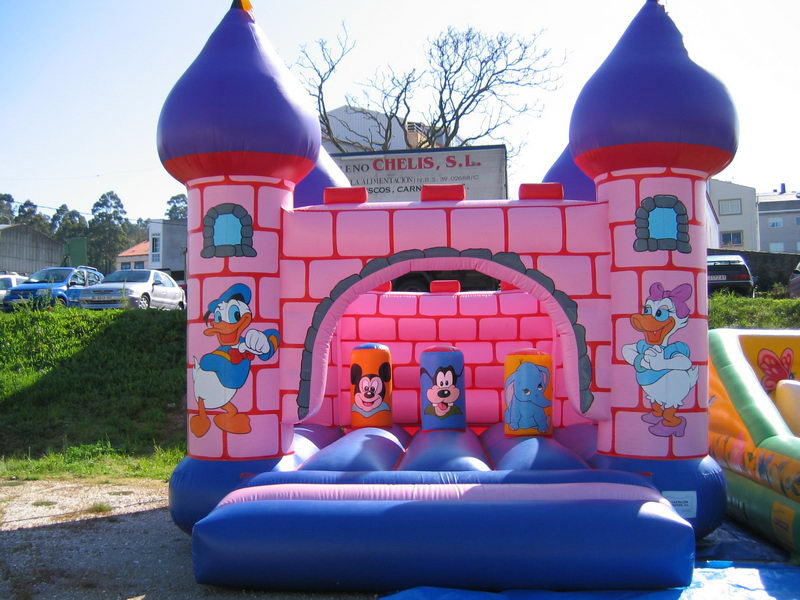 Hinchable mediano castillo Disney