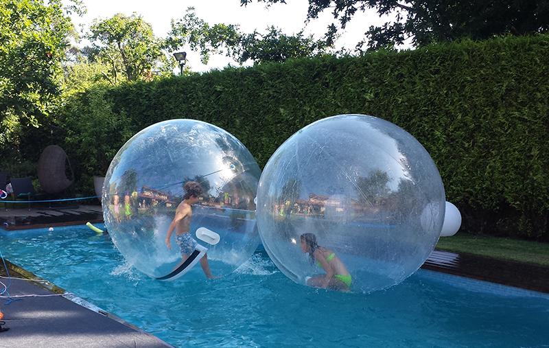 Hinchable acuático bola